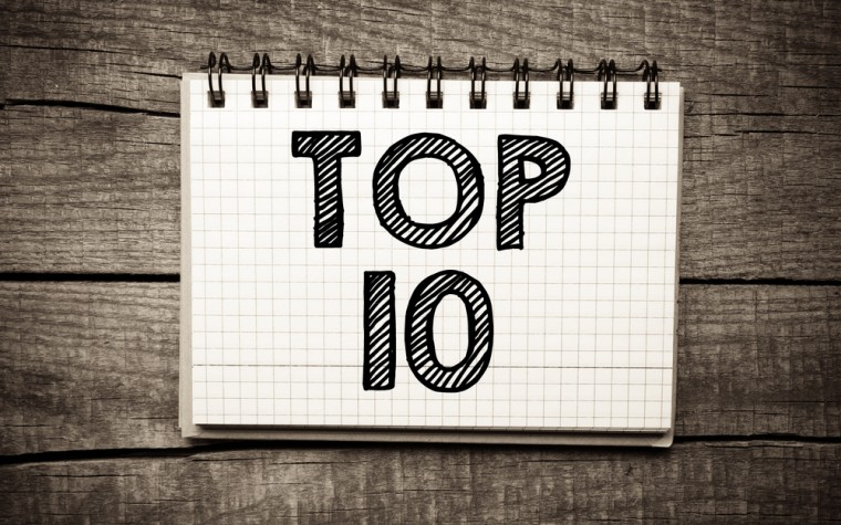 prepare, top 10 list